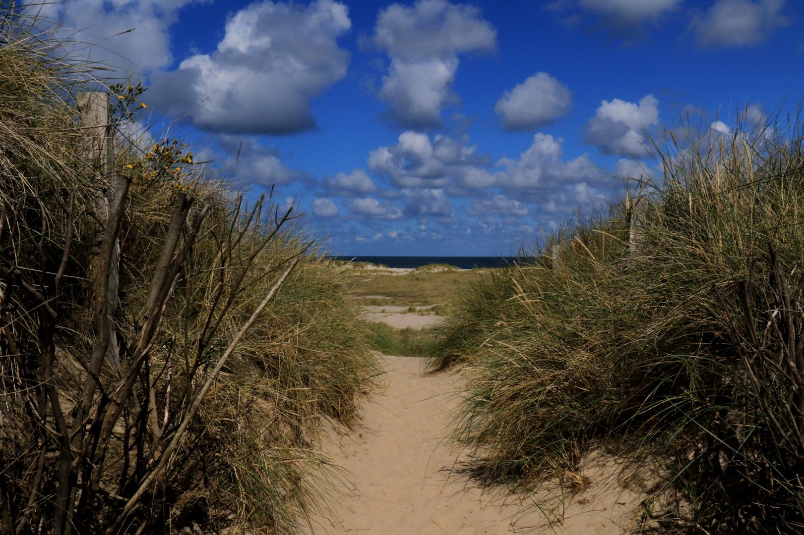 Hier geht´s zum Strand
