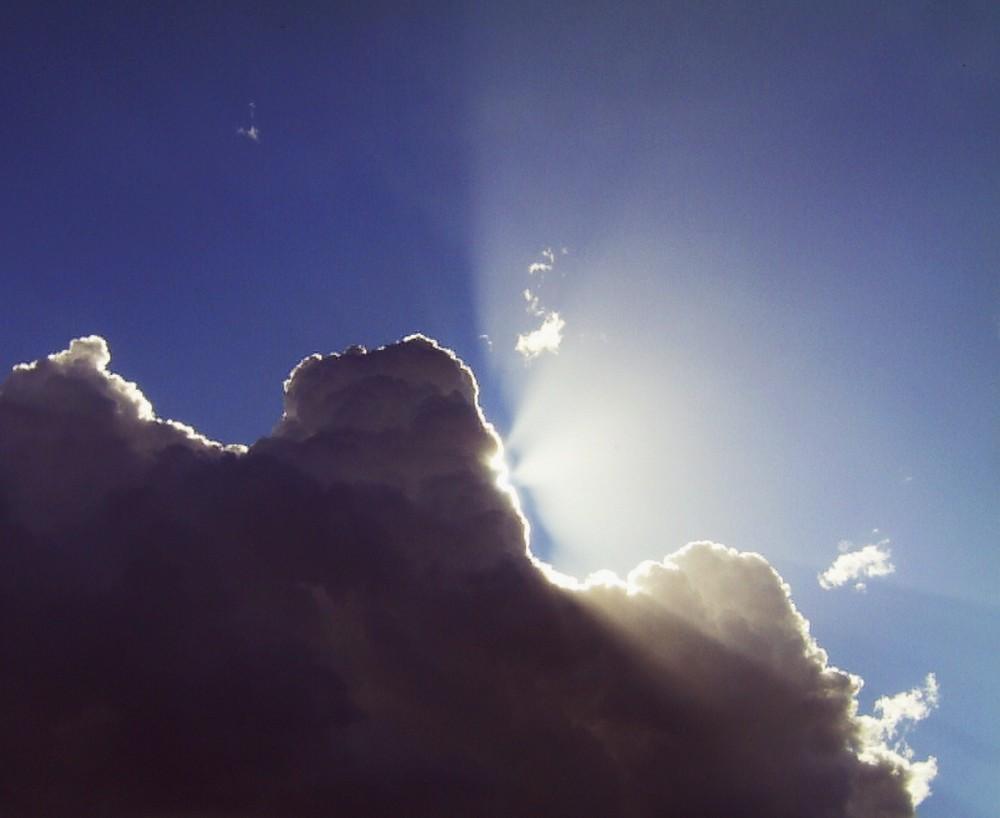 Hier kommt die Sonne