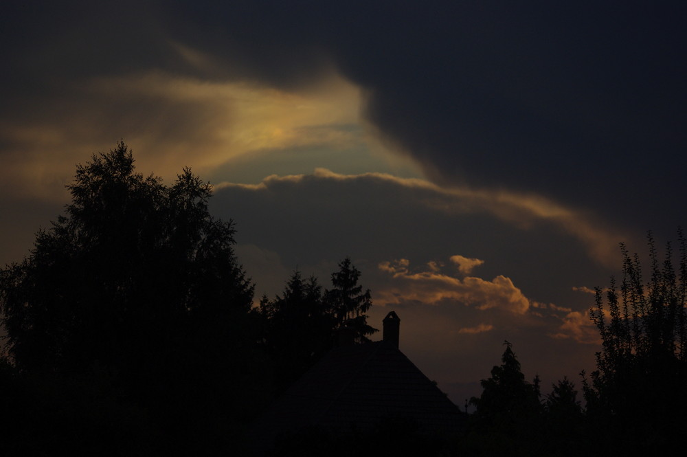hier soir avant l'orage