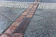hier war Berlin und Deutschland geteilt