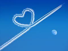 Hier wird immer mit Herz geflogen....huppa!