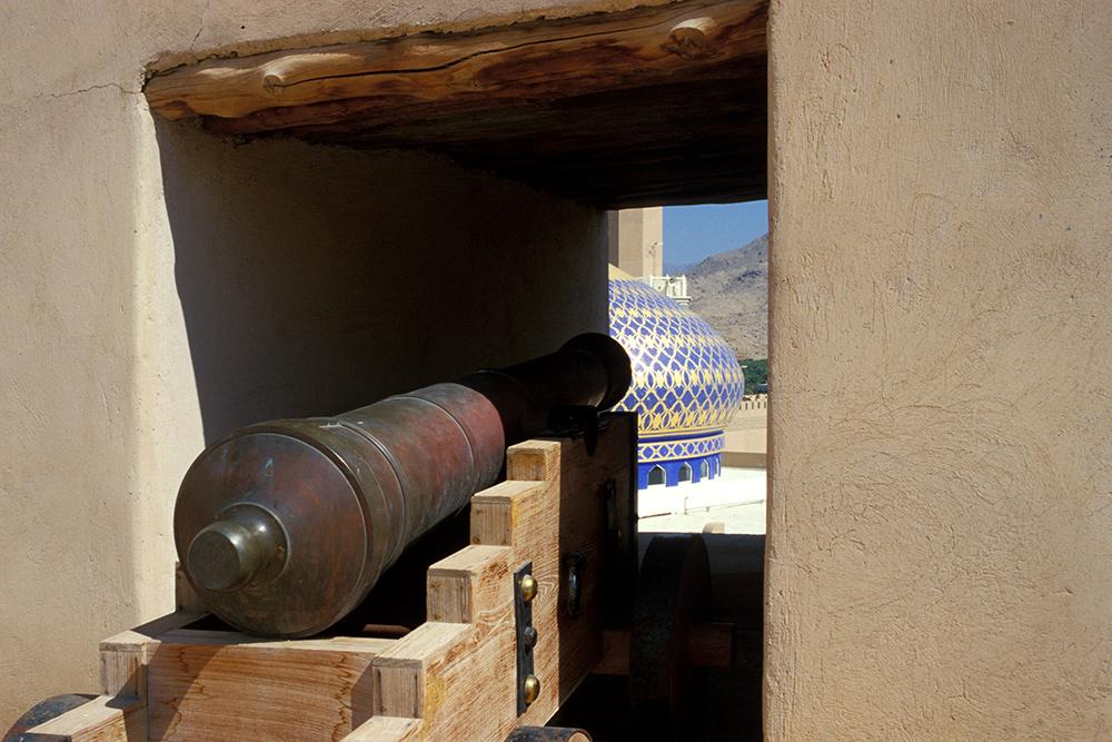 Hier wird nicht geschossen - im Oman ist alles friedlich.
