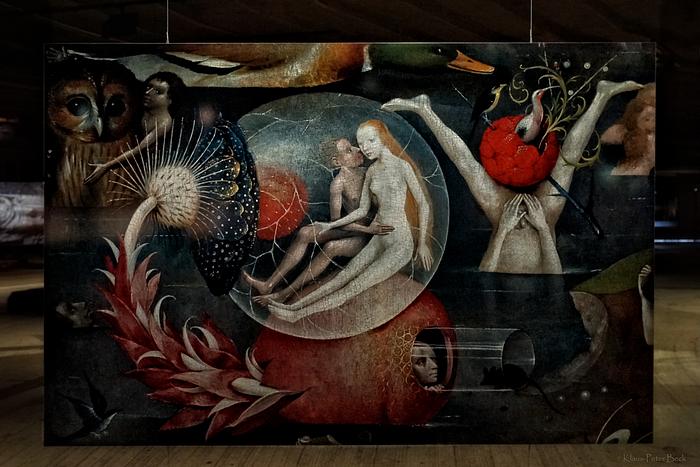 Hieronymus Bosch Der Garten Der Lüste 2 Foto Bild