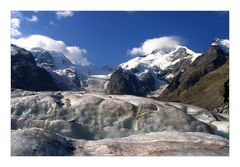 high alpine glacier