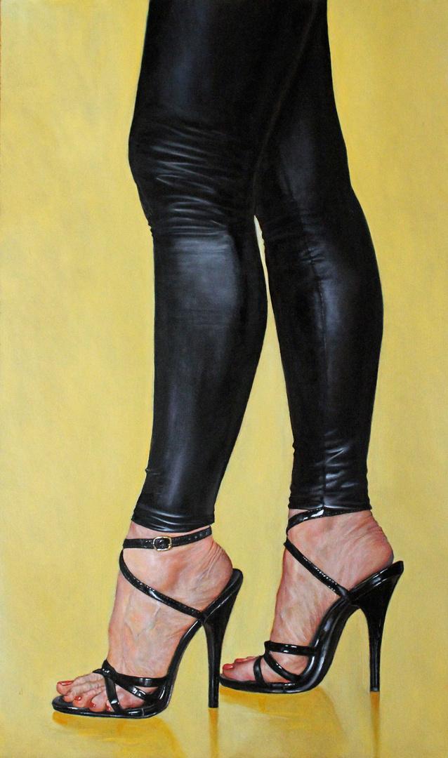 Leggings High Heels