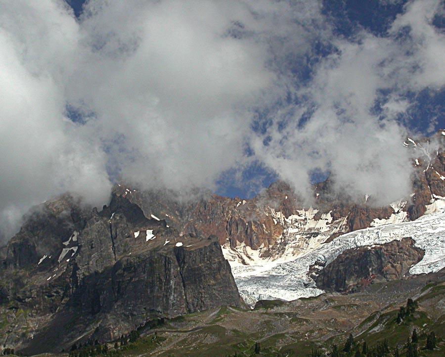 High Mountain Glacier