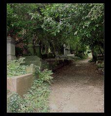 - highgate cemetery - in farbe -