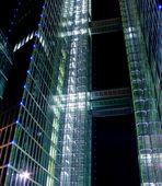 Highlight Towers in München bei Nacht