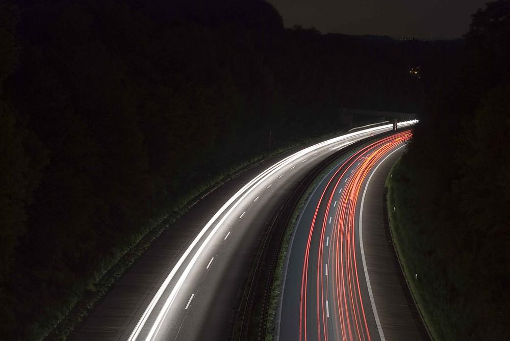 Highway in Sprockhövel