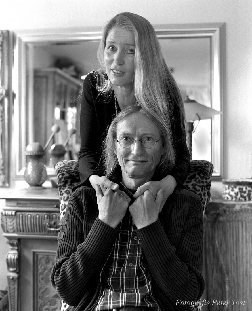 Hildegard Pohl und Yogo Pausch