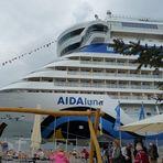 Hilfe, die Aida-Luna-Passagiere haben Landgang....!!!