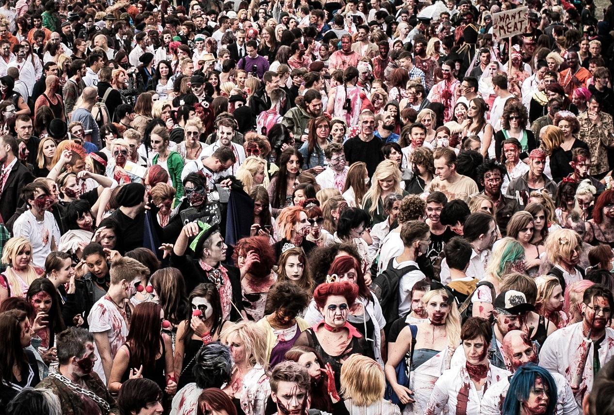 Hilfe, die Zombies kommen!