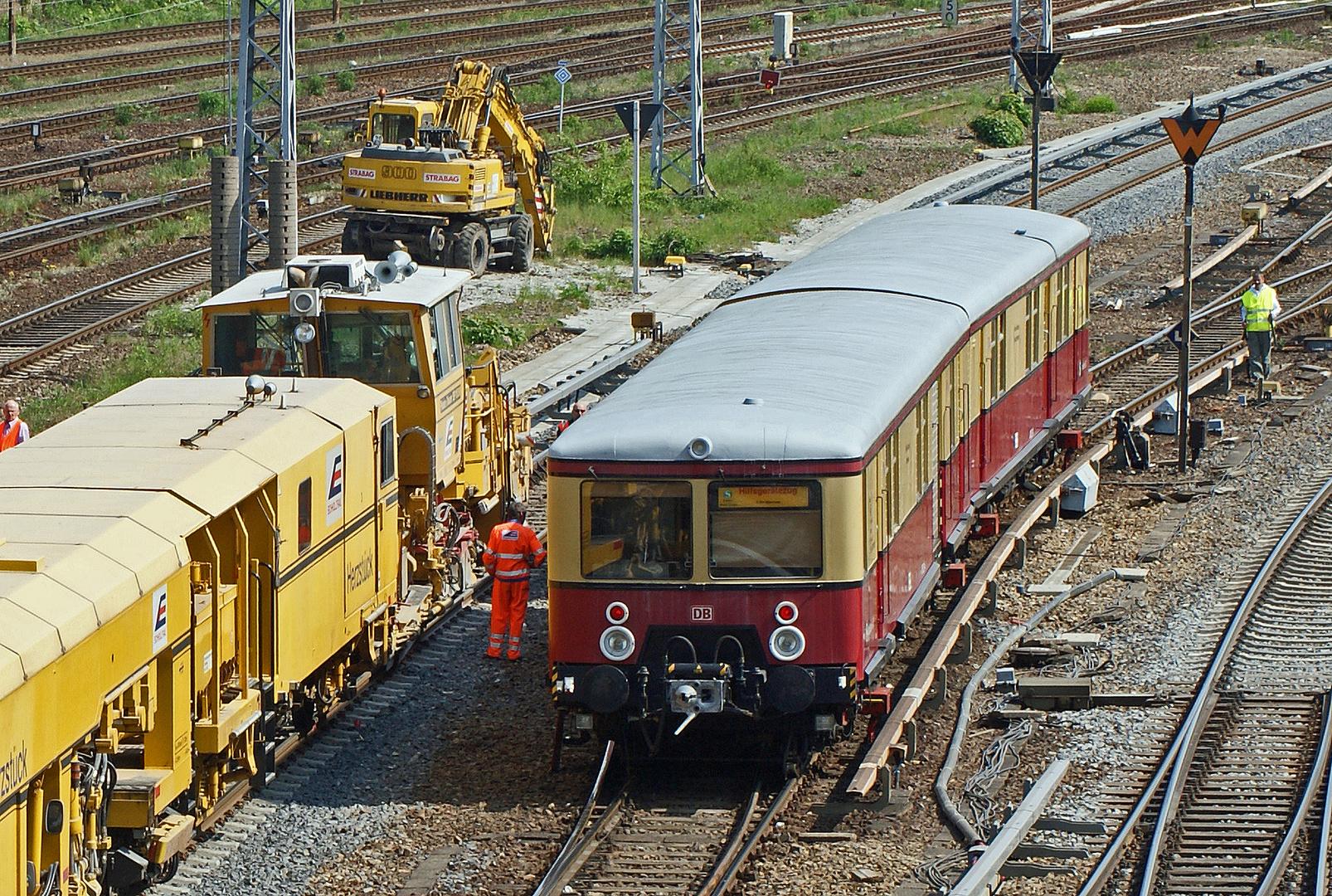 Hilfsgerätezug der Berliner S-Bahn II