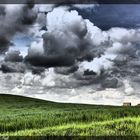 Hills and Clouds # 4