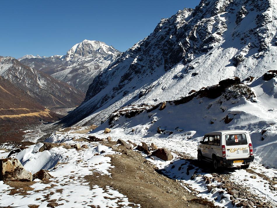 Himalaya Staat Sikkim / Gute Rückkehr aus 4410 Höhenmeter