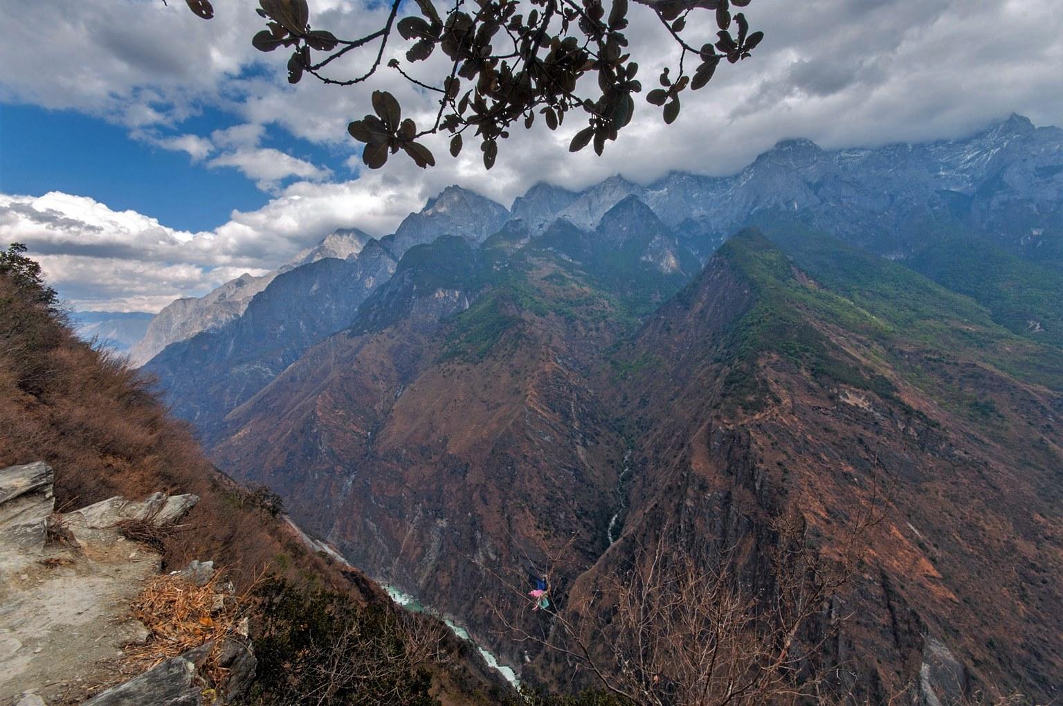 Himalaya, Tigersprungschlucht