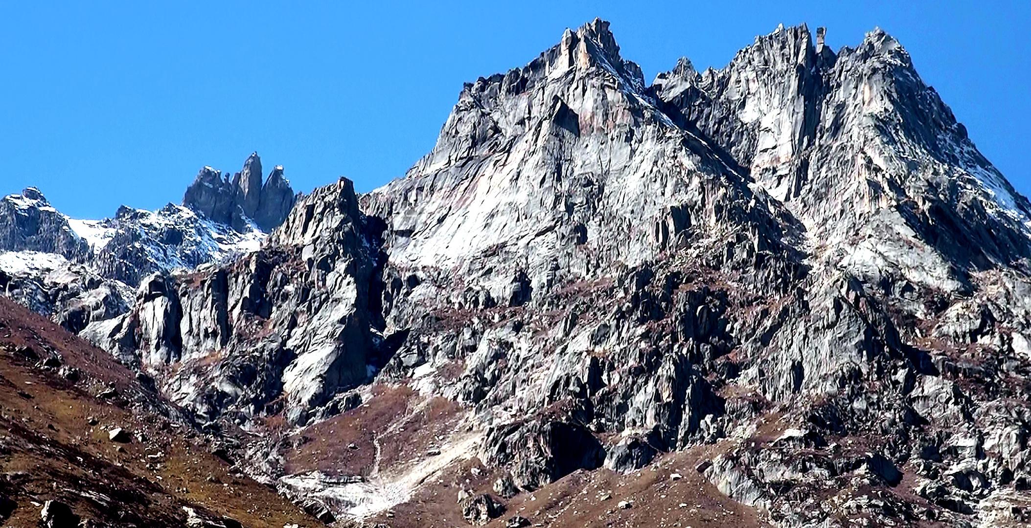 Himalayan Rockface