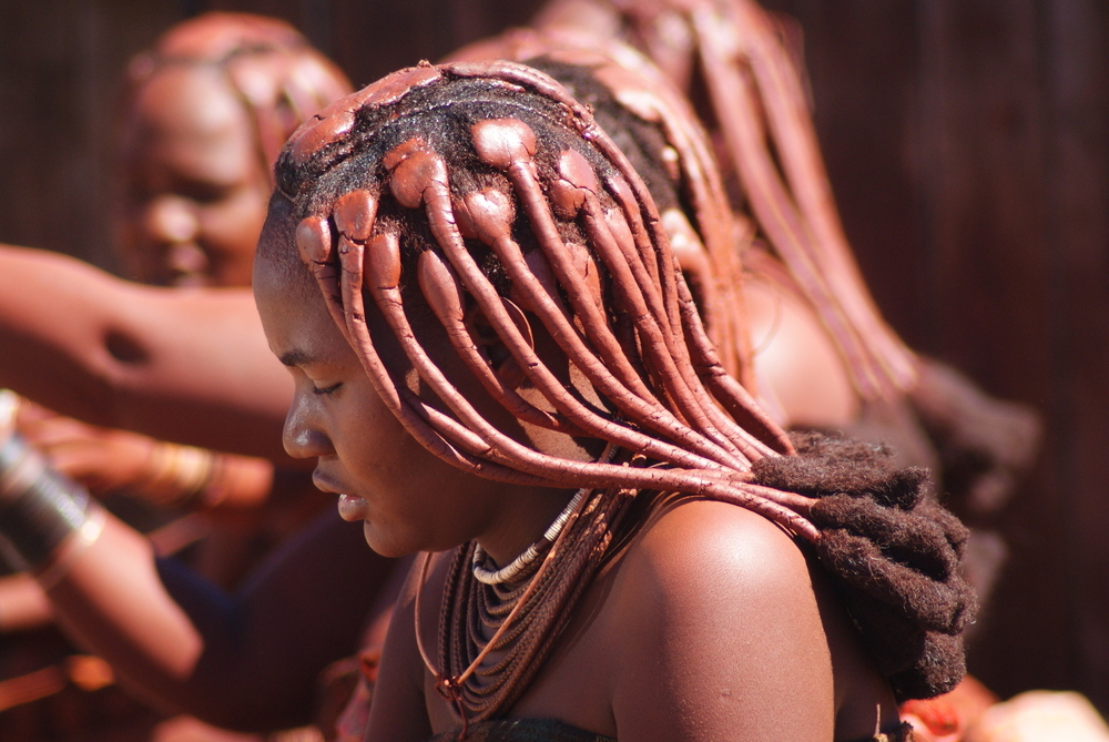 Himba-Frauen