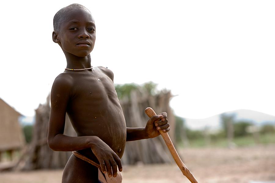 Himba Tribe Boy