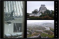 Himeji im Regen