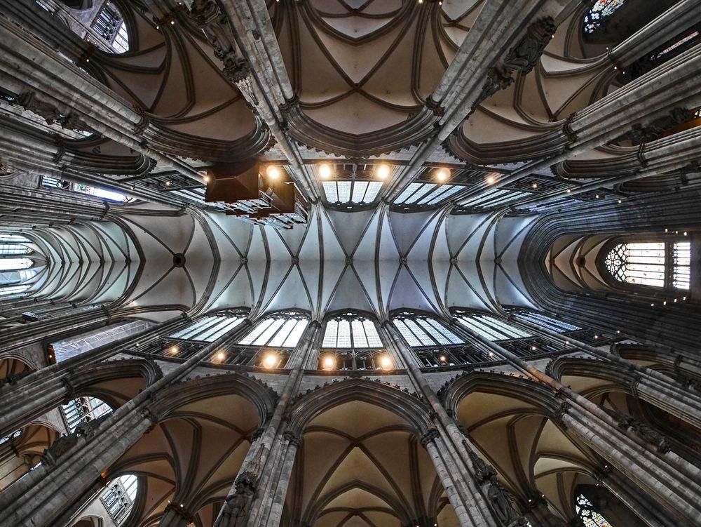 Himmel des Kölner Doms