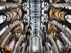 Himmel im Kölner Dom