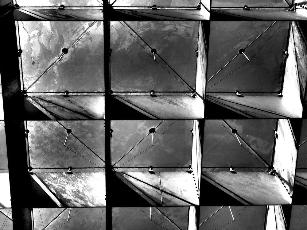 Himmel im Quadrat