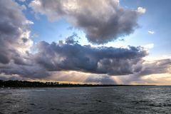 Himmel, Land und Meer