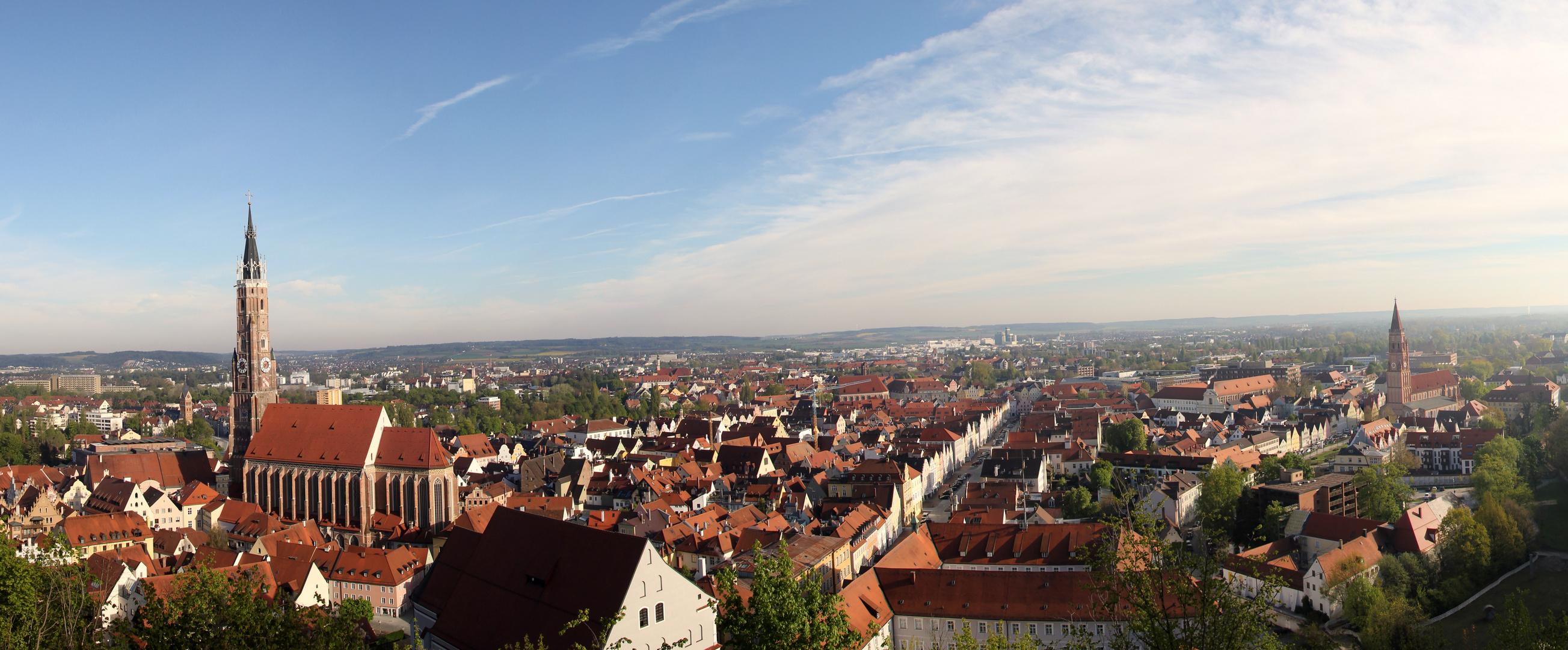 Himmel Landshut - Tausend Landshut