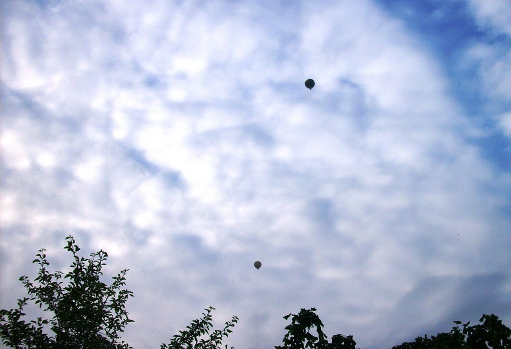 Himmel mit Ballons