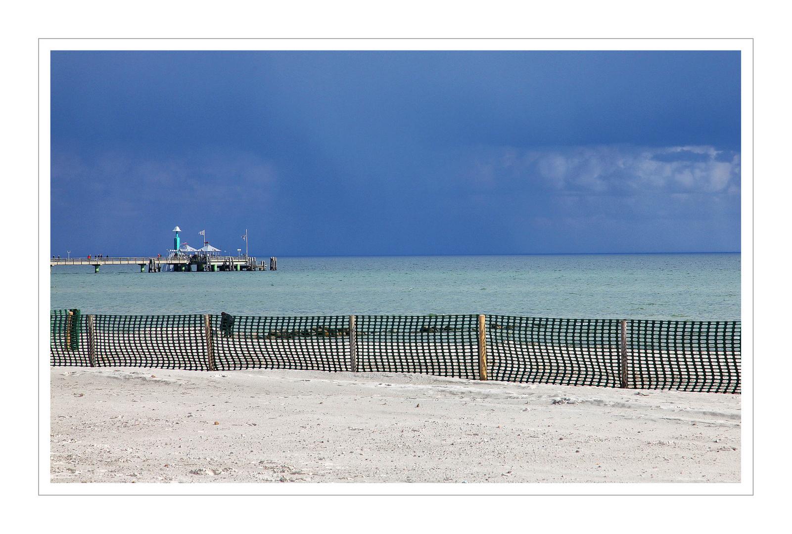 Himmel, Strand und Meer