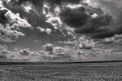 Himmel über dem Aachener Land in SW