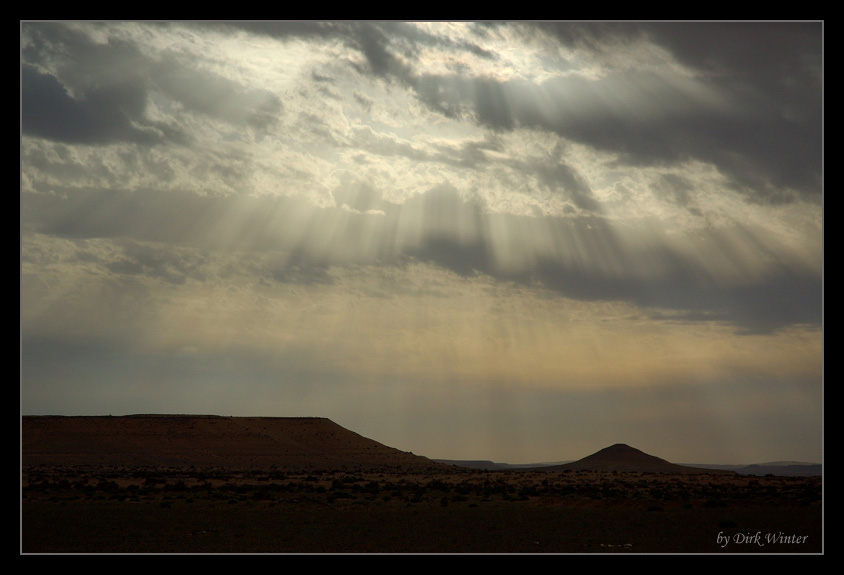 Himmel über der Sahara
