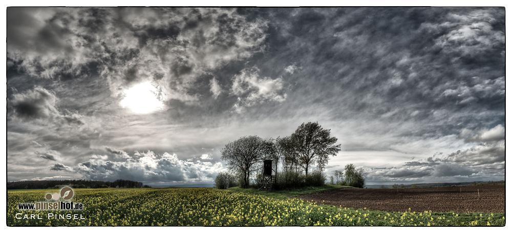 Himmel über der Wetterau