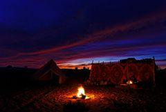 Himmel über der Wüste