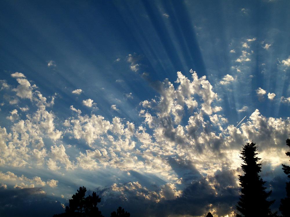 Himmel über Fleestedt