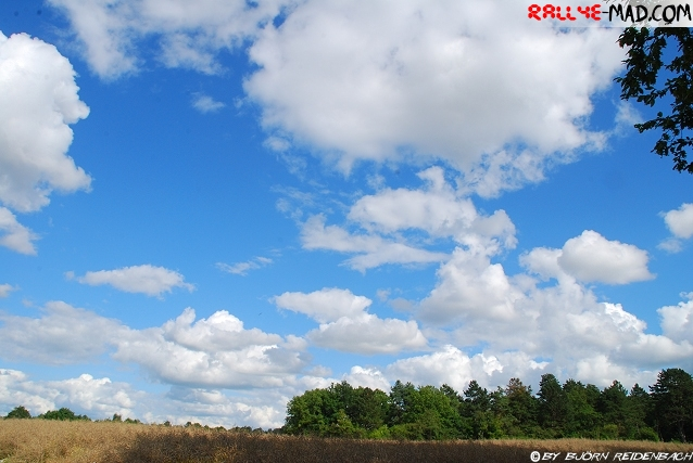 Himmel über Frankreich