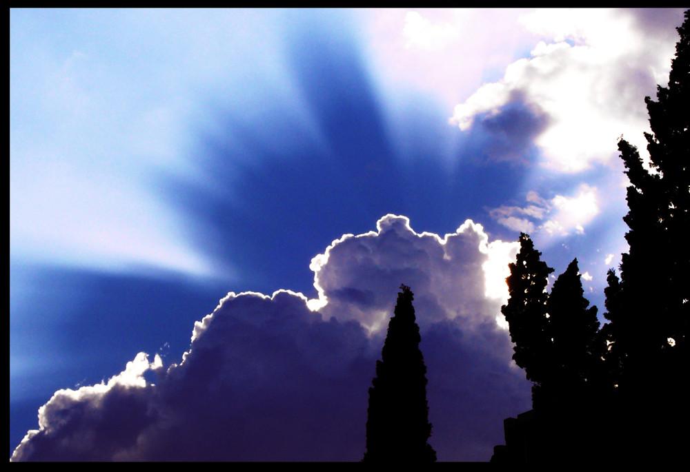 Himmel über Granada