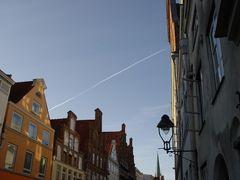 Himmel über Lübeck