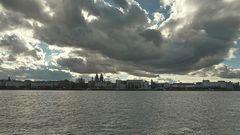 Himmel über Mainz