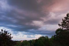 Himmel über Marburg
