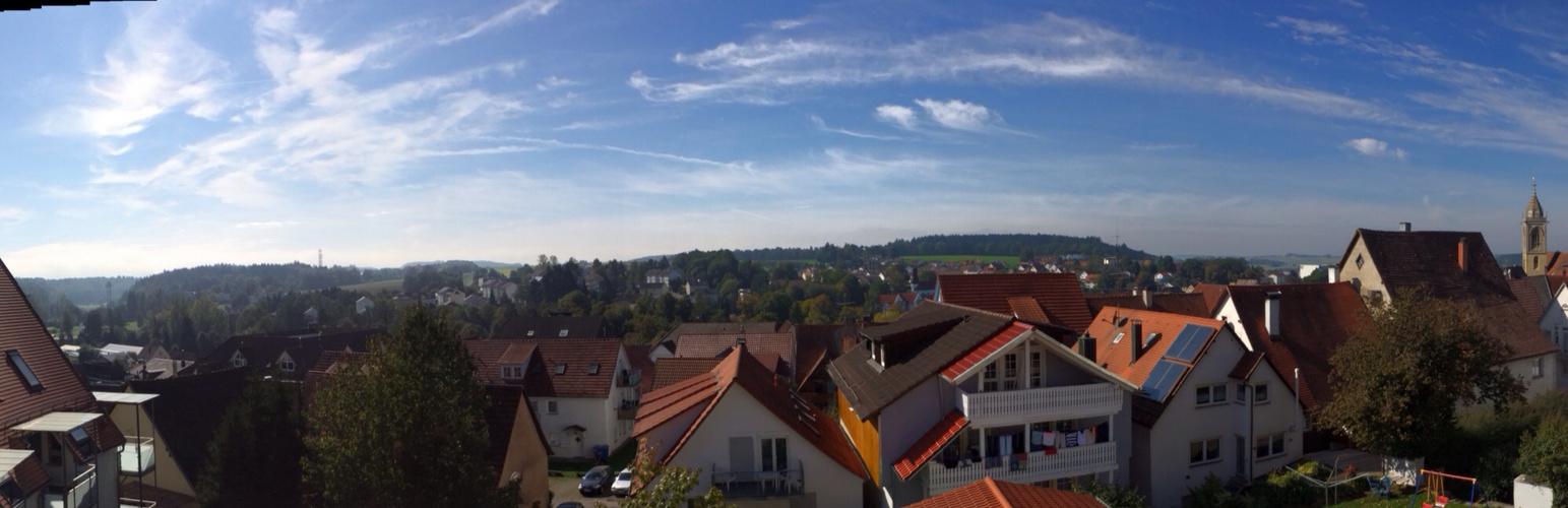 Himmel über meiner Heimatstadt