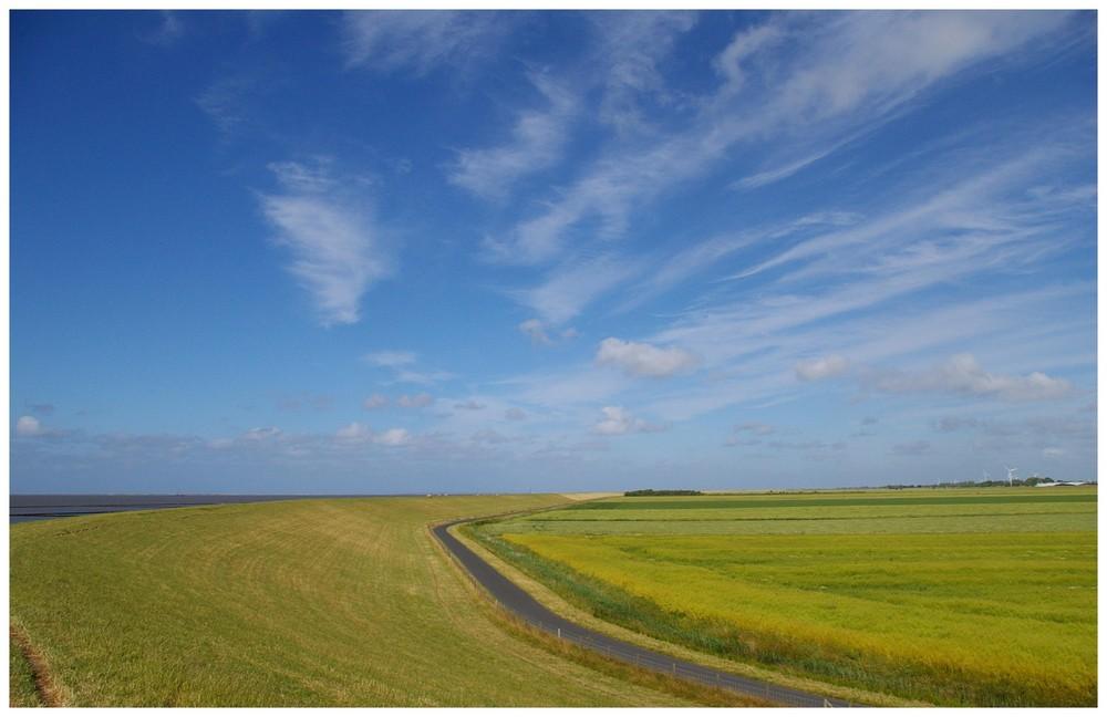 Himmel über Ostfriesland.....