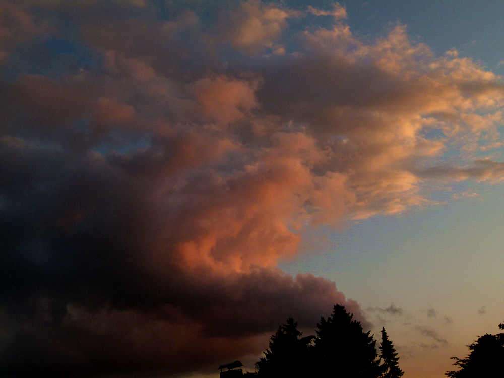 Himmel über Seevetal:-)