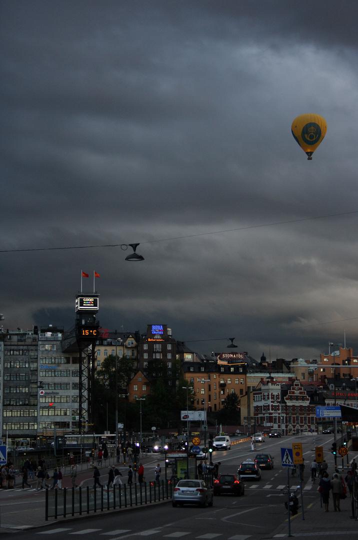 Himmel über Stockholm