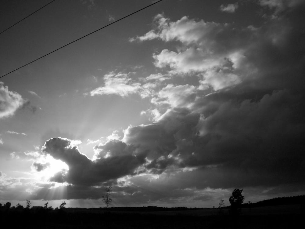 himmel über stralsund