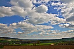 Himmel über Süd-Limburg