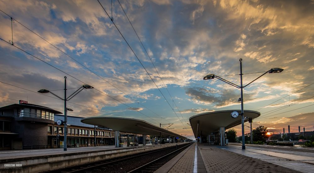 Himmel über Wolfsburg