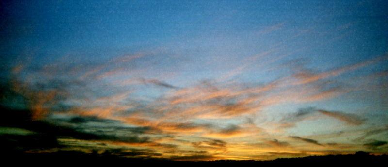 himmel über'm weststrand