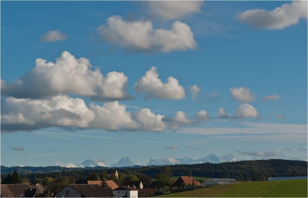 Himmel und Berge
